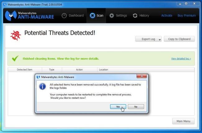 how to do i find your malwarebytes anti-malware lic