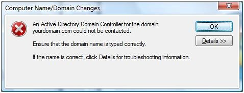 نتيجة بحث الصور عن ‪cannot find DC windows server domain‬‏